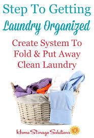 Make A Laundry Hamper by How To Create A System To Put Away Laundry And Make It A Habit