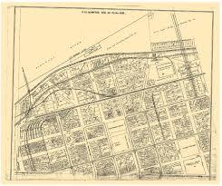 Vintage Map Kansas City River Market 1915 Antique Map Gallup Map