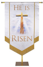 Easter Church Wall Decorations by Easter Banners For Church Praisebanners Com