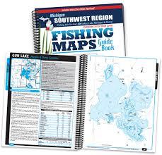 Ada Michigan Map by Southwest Michigan Fishing Map Guide Sportsman U0027s Connection