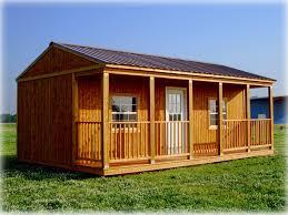 side porches portable buildings cut n shoot
