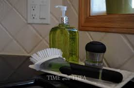 Useful Stylish Kitchen Sink Accessories  Time With Thea - Kitchen sink accessories