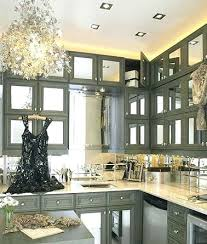 mirrored kitchen cabinets grey mirrored cabinet lovable mirrored kitchen cabinets and