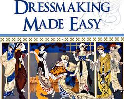 dressmaking book etsy
