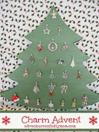 christmas charm advent tree adventures of a diy mom