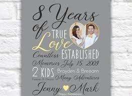 8 year anniversary gifts 8 8 year wedding anniversary gifts 7 year anniversary gift copper