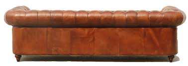 Small Leather Chesterfield Sofa by Pasargad Chester Bay Tufted Genuine Leather Chesterfield Sofa