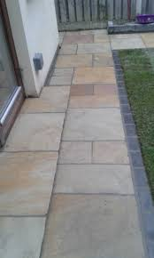 sandstone driveway paving dublin patio contractor granite