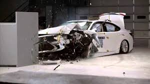 lexus gs250 vs mercedes e250 2016 2018 lexus es 300h es 350 iihs narrow overlap crash test