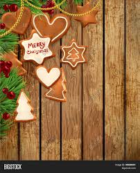 gingerbread cookies christmas tree vector u0026 photo bigstock