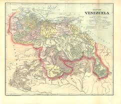 Venezuela Map Map Of Venezuela Colombian And Venezuelan Republics 1900 Drbrowne