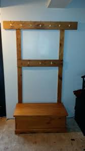 hallway coat rack and bench collection tree pictures image with t