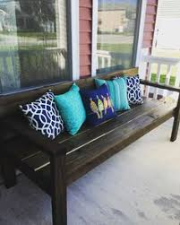 front porch bench ideas large diy front porch bench ana white annie sloan and annie