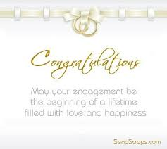 congratulate engagement congratulations on your engagement