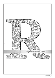 letter coloring printable coloring pages coloring