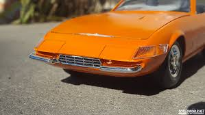 orange ferrari ferrari daytona spyder scaledworld