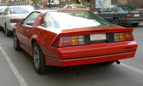 chevrolet camaro 1985 chevrolet camaro wikiwand