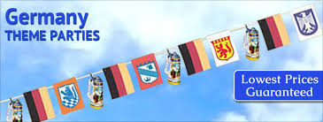 german themed decorations search germany