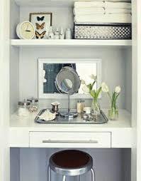 Vanity For Makeup Belle Maison Recent Project Closet Set Design After Photos