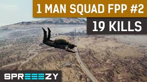 pubg 1 man squad pubg fpp 1 man squad game 1 19 kills win 1 man army youtube