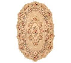 royal palace graceful scallop 3 u0027x5 u0027 oval handmade wool rug page