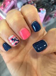 best 25 coral gel nails ideas on pinterest summer shellac