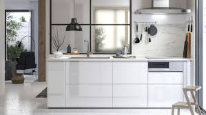 white gloss kitchen doors integrated handle voxtorp high gloss white kitchen white gloss kitchen high