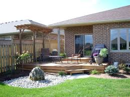 Pergola Deck Designs by Small Deck With Pergola Deck Design And Ideas