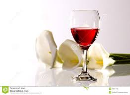 flowers wine wine and flowers stock photography image 1825102
