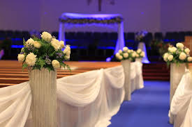 Wedding Decor Rental Columns And Crystal Centerpices One Stop Party Decor Rentals