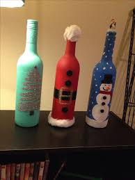 Bottle Decoration For Christmas by 25 Best Wine Bottle Christmas Tree Ideas On Pinterest Christmas