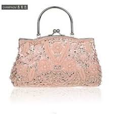 Bridal Party Makeup Bags Champagne Ladies U0027 Beaded Sequined Banquet Wedding Evening Bag
