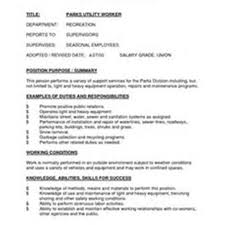 Construction Worker Sample Resume by Sample Resume For Utility Worker Free Resume Example And Writing