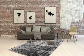 Wohnzimmer Esszimmer Design Design Teppich Flachgewebe Silber Muster Wohnzimmer Esszimmer