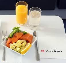 cuisine meridiana meridiana pendant le vol