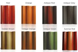 Roof Tile Colors Prime Apex India Concrete Roof Tiles