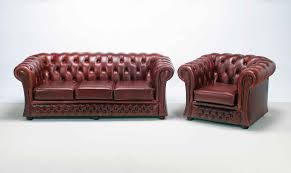 Single Chairs For Living Room by Furniture Elegant Red Leather Chesterfield Couch For Living Room