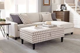Sectional Couch With Ottoman by Scott Living Fabric Sectional Sofa With Storage Ottoman 501170