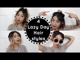 hairstyles for day old curls 4 lazy day hairstyles for day old curls christinawhy youtube