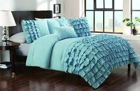 bedroom beautiful blue and black bedroom decoration using