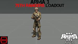 Army Ranger Flag Arma 3 Loadout Tutorial Us Army Rangers Youtube