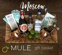 vodka gift baskets moscow mule gift basket sweet lemon made