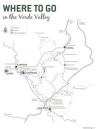 Douglas Arizona Map by Jerome Sedona Verde Valley Tourism Council