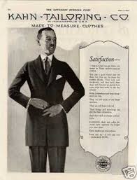 vintage clothes fashion ads of the 1920s