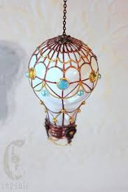 air balloon ornament from designs by steve and susie