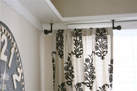 breathtaking how to hang curtains from the ceiling 92 on home