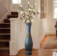 floor vases home decor fascinating floor vases home decor high big bamboo wood vase large