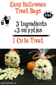 easy halloween treat bags the country chic cottage