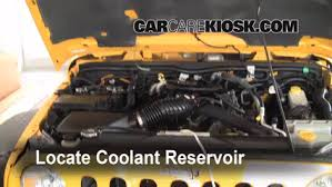 jeep wrangler engine how to add coolant jeep wrangler 2007 2016 2008 jeep wrangler