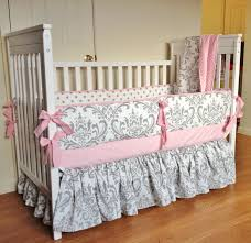 Bright Pink Crib Bedding by Nursery Beddings Pink And Grey Crib Bedding Plus Light Pink